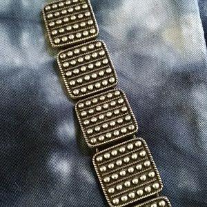 Lucky brand silver chunky link bracelet